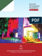 Executive Development Programmes - 2014-15-543