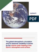 Winds:Atmosphere & Ocean Circulation