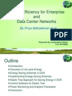 Energy Efficiency in DCN