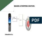 Sms Based Stepper Motor Controll.doc