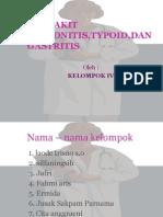 Penyakit Polyomyelitis,Typoid,Dan Gastritis 2