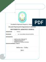 Informe de Fisica 2 m. Armonico Simple Terminado (1)