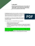 Métodos CPM y PERT