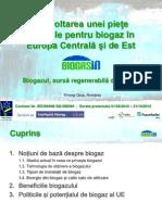 Biogazul Sursa Regenerabila