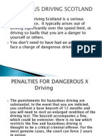 Dangerous Driving Scotland