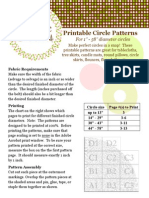 Print Able Circle Patterns