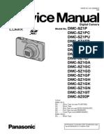 SERVICE MANUAL Dmc-sz1