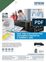 Epson InkTankSystemPrinterL120 Brochure