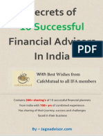 Secrets of 10 Successful Financial Advisors in India Cafemutual