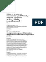 Salud Mental Alternativa