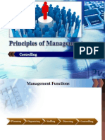 Principles of Management-Controlling
