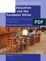 Adult Education Policy and the European Union