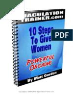 10 Steps in P.E.