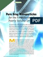 NP in drug formulations