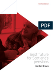 Scottish Labour - Best Future for Pensions
