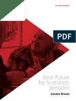Scottish Labour - Best Future for Pensions