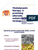 PDT-biofilm and intracellular bacteria