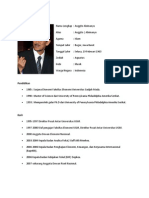Profil Anggito Abimanyu