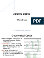 Aoptics-1-wave fronts