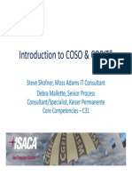 Introduction to Coso & Cobit