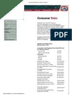 Consumer Rates