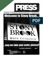 The Stony Brook Press - Volume 19, Issue 1