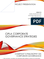 Corporate Governance Strategies