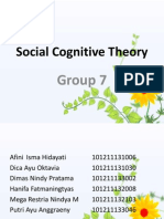 7. Social Cognitive Theory