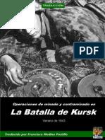 Operaciones de Minado y Contraminado en La Batalla de Kursk