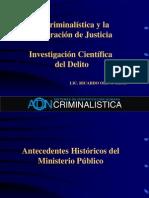CRIMINALISTICA Escena Del Delito General