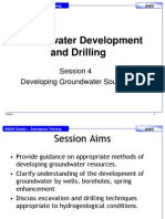 GWD4 PP Developing Groundwater Sources