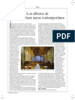Arquitectura Sacra en Los Siglos XX y XXI Ralf Van Buehren 2011