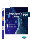 2.3 Teaching Methods
