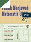 30736135 Teknik Menjawab Matematik Upsr 130802014053 Phpapp01