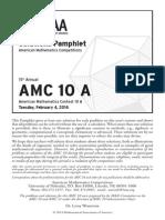 2014AMC 10A Solutions