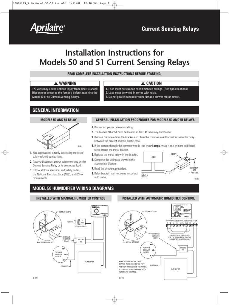 Relay Model No 50 Power Engineering Current Sensing Wiring Diagram