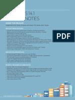 Junos Release Notes 14.1