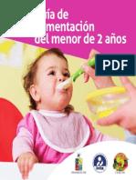 ALimentacion Guia Menor de 2 Años INTA