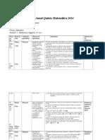 Plan Anual Quinto Primer 2014