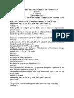 Código Penal Venezolano