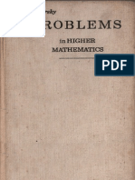 Problems in Higher Mathematics Minorsky
