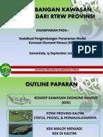 Pengembangan Kawasan Ditinjau Dari Rtrw Provinsi Kaltim