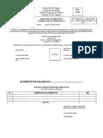 Contoh Format Sertifikat UKK SMK