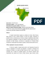 1.1 Região Centro Oeste - Mato Grosso