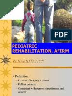 Pediatric Rehabilitation Fi