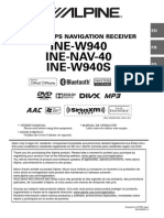 Alpine INE W940