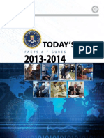Federal Bureau of Investigation FBI - Facts and Figures for 2014