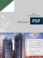 Acme Boulevard - Pre Launch