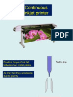 PP Continuous inkjet printer