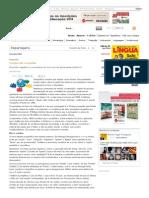 A Língua Das Ortografias _ Revista Língua Portuguesa